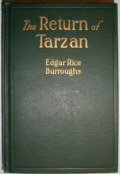 The Return of Tarzan Dust Jacket