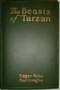 The Beasts of Tarzan Dust Jacket