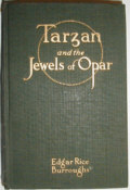 Tarzan and the Jewels of Opar Dust Jacket